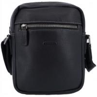 Маленькая мужская сумка через плечоKATANA (Франция) k-69264 BLACK