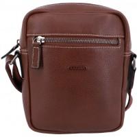 Маленькая мужская сумка через плечоKATANA (Франция) k-69264 CHOCO