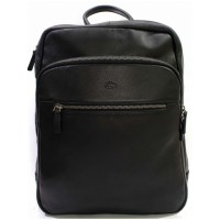 Кожаный рюкзак мужской для ноутбука KATANA (Франция) k-89618 BLACK