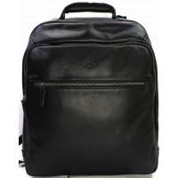 Рюкзак кожа мужской KATANA (Франция) k-89619 BLACK