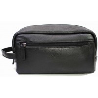 Мужская кожаная сумка косметичка KATANA (Франция) k-81610 BLACK