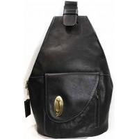 3565e9f798d6 Женская сумка рюкзак из натуральной кожи KATANA (Франция) k-BLACK 322067