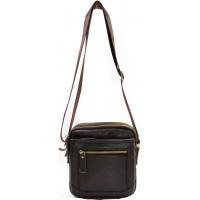 Кожаная мужская сумка KOZHA CHOCO 6008-02