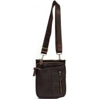 Кожаная мужская сумка KOZHA CHOCO 6101-02