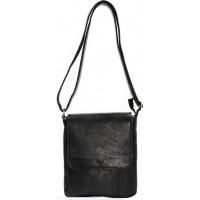 Кожаная мужская сумка KOZHA BLACK 2500-01
