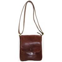 Кожаная мужская сумка KOZHA BROWN 2500-03