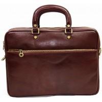 Мужской портфель кожаный KOZHA BROWN 8690-03