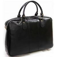 Сумка портфель из кожи KOZHA BLACK 878-01