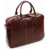 Портфель кожаный деловой KOZHA BROWN 878-03