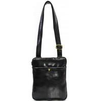 Кожаная мужская сумка KOZHA BLACK 1700-01