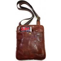 Кожаная мужская сумка KOZHA BROWN 1700-03