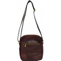 Кожаная мужская сумка  KOZHA BROWN 2007-03