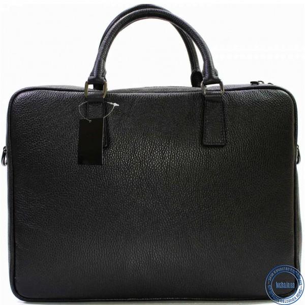 6a4495cca929 Кожаная деловая сумка портфель для документов и папок Италия KOZHA BLACK  3310-01