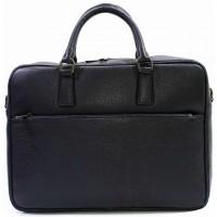 Кожаная деловая сумка портфель для документов KOZHA BLUE 3310-06