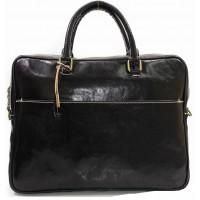 Кожаный мужской портфель KOZHA BLACK 3901-01