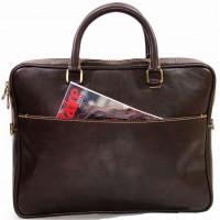 Сумка портфель мужская KOZHA CHOCO 3901-02