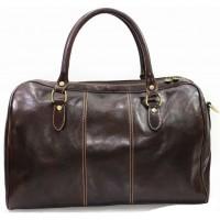 Дорожная сумка из натуральной кожи KOZHA CHOCO 4800-02