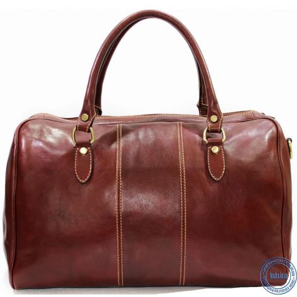 52ee5f77226f Дорожная сумка ручная кладь KOZHA BROWN 4800-03