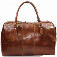 Кожаная дорожная сумка KOZHA LIGHT BROWN 4800-04