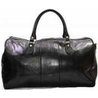 Кожаная дорожная сумка KOZHA BLACK 5801-01