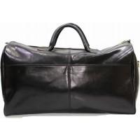 Дорожная кожаная сумка KOZHA BLACK 5802-01