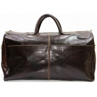 Дорожная кожаная сумка KOZHA CHOCO 5802-02