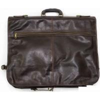 Кожаный портплед для одежды Италия VALENTINA CHOCO 8812-02