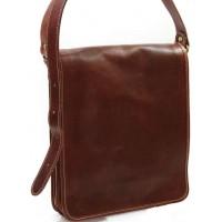 Кожаная мужская сумка KOZHA BROWN 3600-03