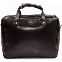 Кожаная деловая сумка портфель для документов KOZHA CHOCO 3800A-02