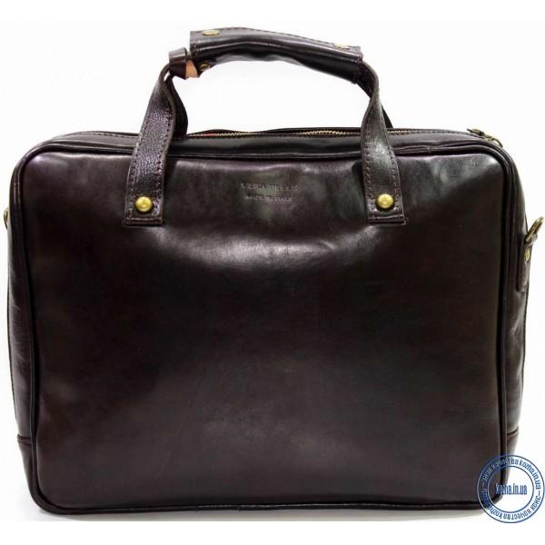 27058c54ae4a Кожаная деловая сумка портфель для документов KOZHA CHOCO 3800A-02