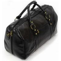Кожаная дорожная сумка мужская KOZHA BLACK 5800-01