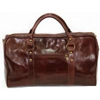 Кожаная дорожная сумка KOZHA BROWN 5800-03