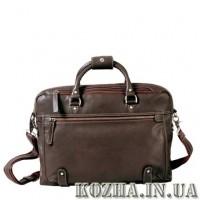 Кожаный портфель для ноутбука KATANA (Франция) k-69258 шоколадный