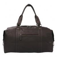 Дорожная кожаная сумка KATANA (Франция) k-69252 CHOCO