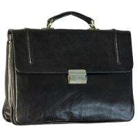 Недорогой кожаный портфель