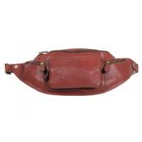Кожаная сумка на пояс KATANA (Франция) k-31000