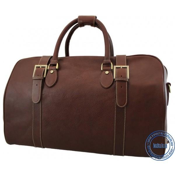 00f169d396a2 Кожаная дорожная сумка KATANA (Франция) k-33155