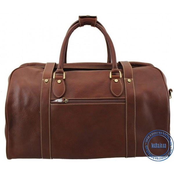 184a56228744 Кожаная дорожная сумка KATANA (Франция) k-33155